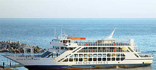 Ferry boat connections southwest crete sfakia loutro agia daskalogiannis ferry boat of southwest crete sciox Images