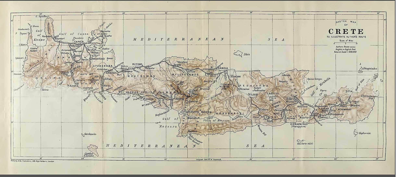 historical maps of crete ancient maps crete greece 1296 1900 ad